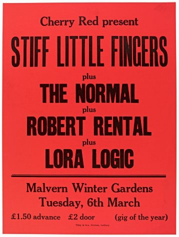 Stiff Little Fingers, The Normal, Robert Rental, 06 March 1979