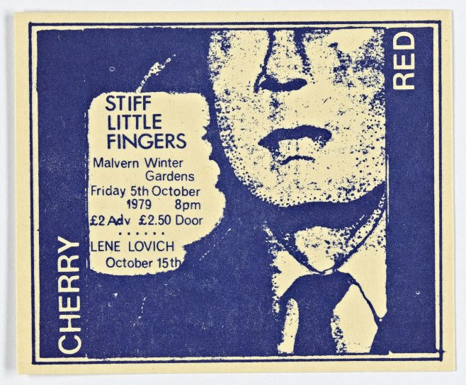 Ticket for Stiff Little Fingers at Malvern Winter Gardens | Cherry Red Promotions