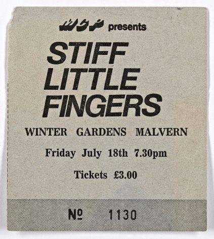 Stiff Little Fingers, Weapons of Peace, 18 July 1980