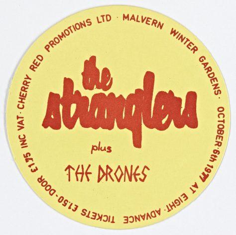 Stranglers, The Drones, 06 October 1977