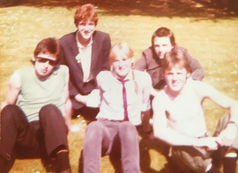 Hanging out with The Undertones, 1980