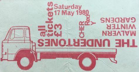 Undertones, The Moondogs, 17 May 1980