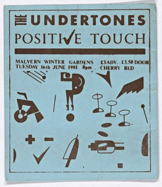 Ticket for The Undertones at Malvern Winter Gardens | Cherry Red Promotions