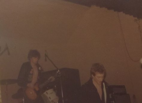 Photos of Stiff Little Fingers playing at Malvern Winter Gardens on 5th October 1979
