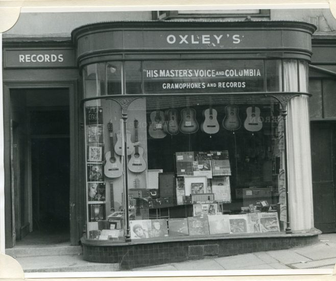 Oxley's Music Shop, Malvern, 1971 | Michael Dowty