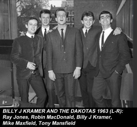 Billy J. Kramer and The Dakotas, Dennis Wheeler and his Orchestra, Derek Bruce and his Showband, 20 July 1963