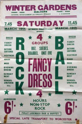 Rock Ball, 19 March 1966