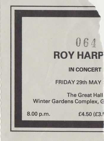 Roy Harper, 29 May 1987