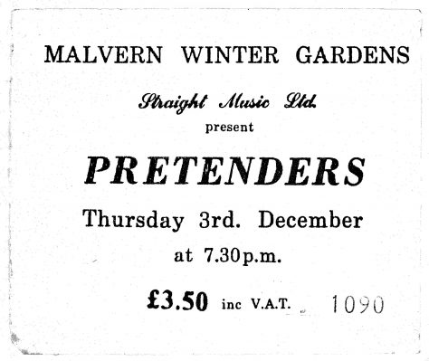 Pretenders, The Flying Padovanis, 03 December 1981