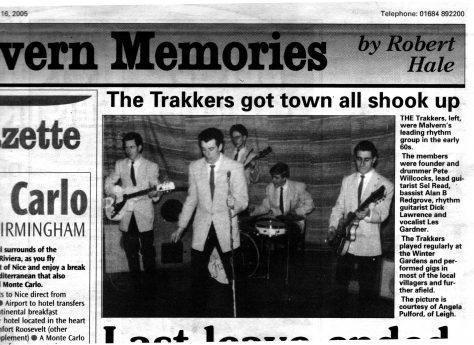 Feature on The Trakkers from Malvern Gazette, 2005